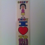 Geeky Chick Bookmark
